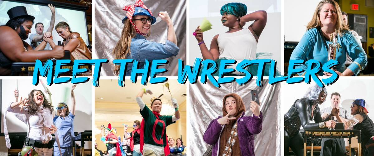 Update Meet the wrestlers